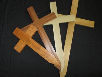 Wooden Crosses/Grave Markers